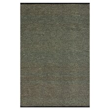 Green Valley Black/Gray Solid Area Rug