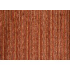 Frazier Autumn Red Striped Area Rug