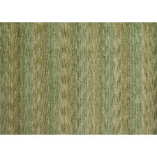 Frazier Green Striped  Area Rug