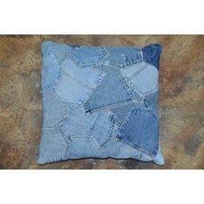 Runway Denim Pockets Pillow