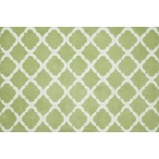 Piper Diamond Green Rug