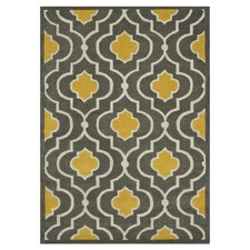 Brighton Grey / Gold Rug