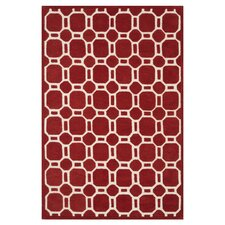 <strong>Loloi Rugs</strong> Brighton Red Rug