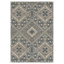 <strong>Loloi Rugs</strong> Leyda Grey / Denim Rug