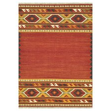 Isara Red / Gold Rug