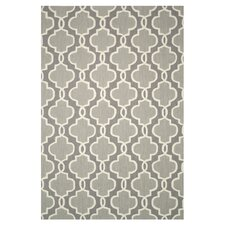 Francesca Grey Floral Area Rug