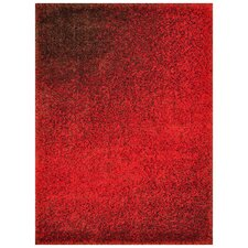 Barcelona Red/Brown Area Rug