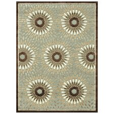 Halton Grey / Brown Rug