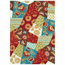 Juliana Rust/Patch Area Rug