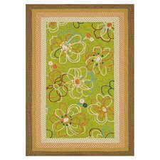Zamora Lime Outdoor Rug