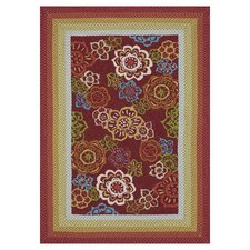 Zamora Red Outdoor Area Rug