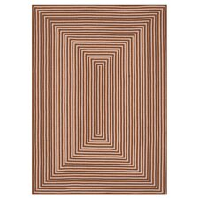 In/Out Orange Area Rug