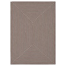 In/Out Brown Area Rug