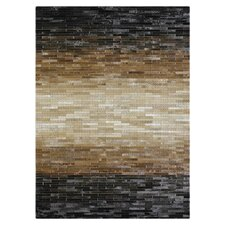 Tahoe Hemingway Sunset Black/Brown Area Rug