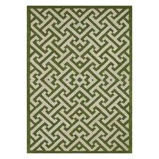 Brighton Lawn Green/Ivory Area Rug