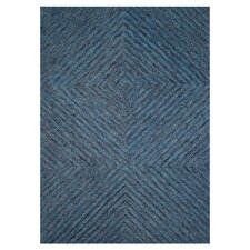 Persie Dark Blue Area Rug
