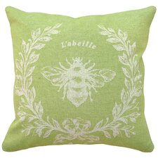 French Napoleon Bee 100% Linen Pillow