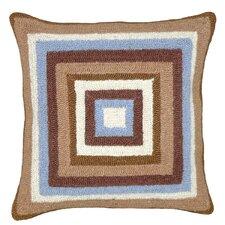 Squares 100% Wool Hook Pillow