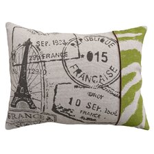 <strong>123 Creations</strong> Stamps 100% Linen Screen Print Pillow