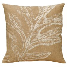 Oak Leaf 100% Linen Screen Print Pillow
