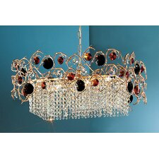 <strong>Classic Lighting</strong> Foresta Colorita 8 Light Chandelier