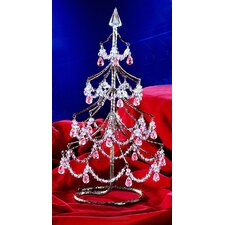 "<strong>Classic Lighting</strong> Cheryls 1' 4"" Grapes Amethyst Artificial Christmas Tree"