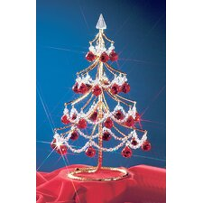 "Cheryls 1' 4"" Red Artificial Christmas Tree"