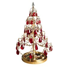 """Cheryls 1' 9"""" Artificial Christmas Trees with 1 Light"""
