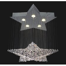 Corpi Celeste 5 Light Chandelier