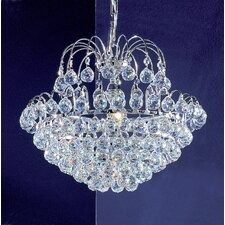 <strong>Classic Lighting</strong> Diamante 5 Light Chandelier
