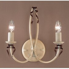 <strong>Classic Lighting</strong> Belluno 2 Light Wall Sconce