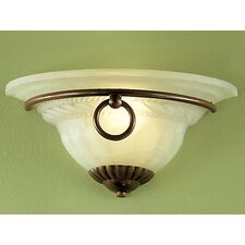 <strong>Classic Lighting</strong> Livorno 1 Light Wall Sconce