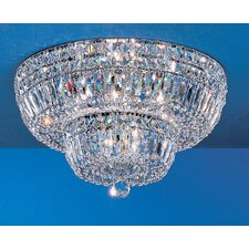 <strong>Classic Lighting</strong> Empress Light Semi-Flush Mount