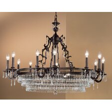 <strong>Classic Lighting</strong> Renaissance 18 Light Chandelier