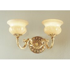 <strong>Classic Lighting</strong> Morena 2 Light Wall Sconce