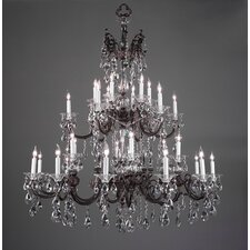 <strong>Classic Lighting</strong> Via Lombardi 30 Light Chandelier