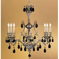Majestic 9 Light Chandelier