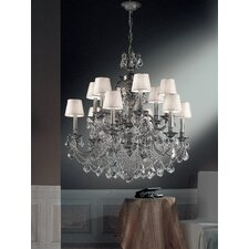 <strong>Classic Lighting</strong> Chateau Imperial 12 Light Chandelier