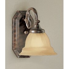 <strong>Classic Lighting</strong> Yorkshire 1 Light Wall Sconce