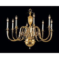 Hampton 8 Light Chandelier