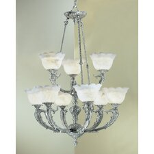 Victorian I 9 Light Chandelier