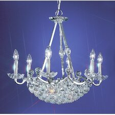 <strong>Classic Lighting</strong> Solitaire 12 Light Chandelier