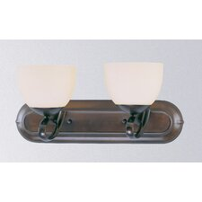 <strong>Classic Lighting</strong> Odyssey 2 Light Bath Vanity Light