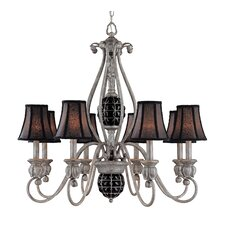 <strong>Classic Lighting</strong> Catturatto 8 Light Chandelier