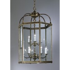 European 9 Light Outdoor Hanging Lantern