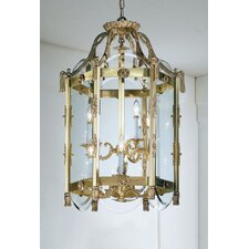 <strong>Classic Lighting</strong> Charleston 9 Light Outdoor Hanging Lantern