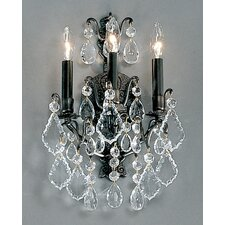 Versailles 3 Light Wall Sconce