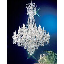 <strong>Classic Lighting</strong> Bohemia 40 Light Chandelier