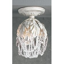 Petite Fleur 1 Light Semi-Flush Mount