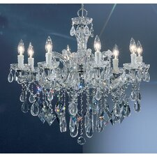 Rialto 8 Light Chandelier